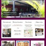 Page d'accueil de la Brasserie des Eclusiers